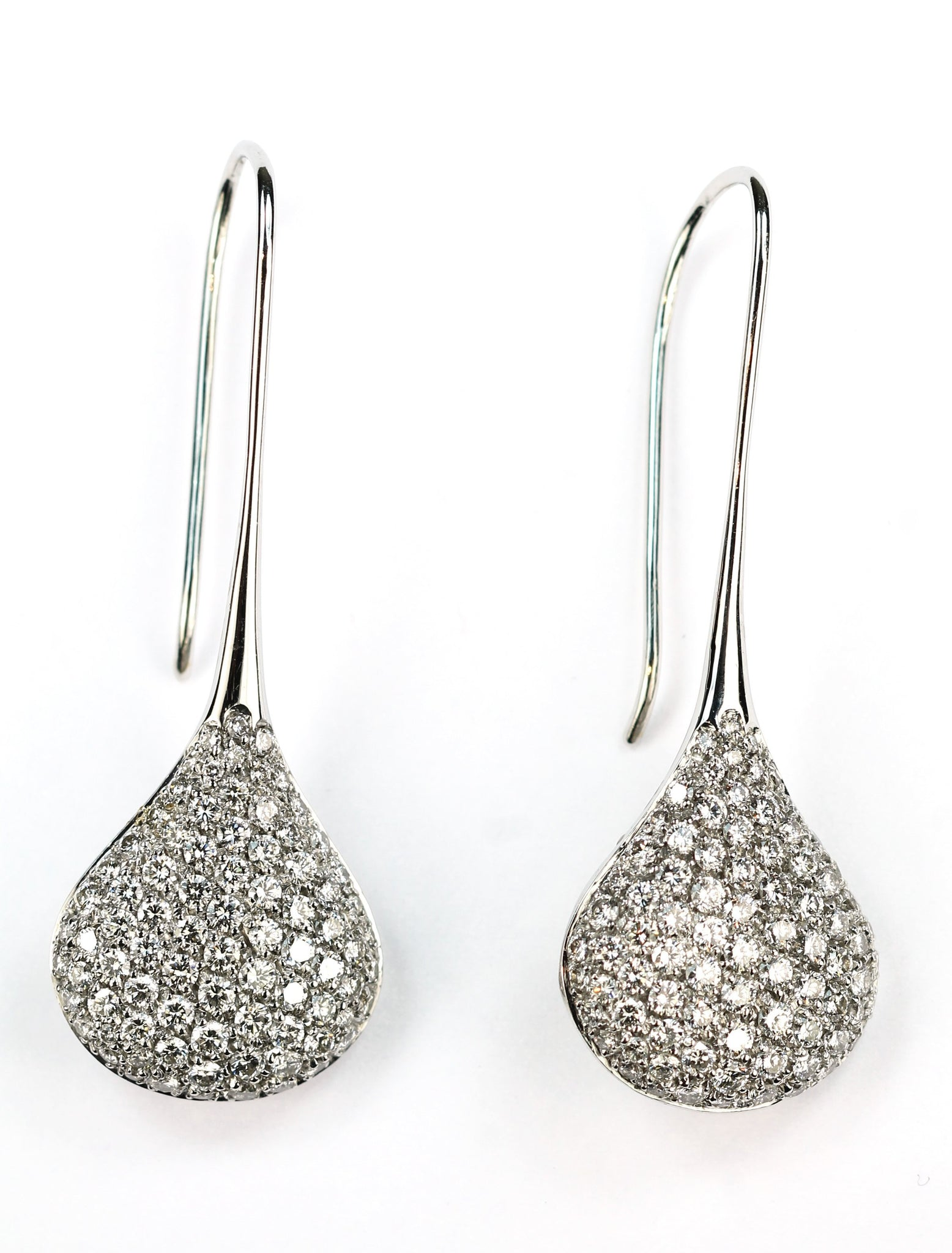 Vintage Luca Carati Diamond Earrings