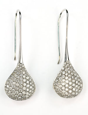 Vintage Diamond Earrings, SALE, SOLD