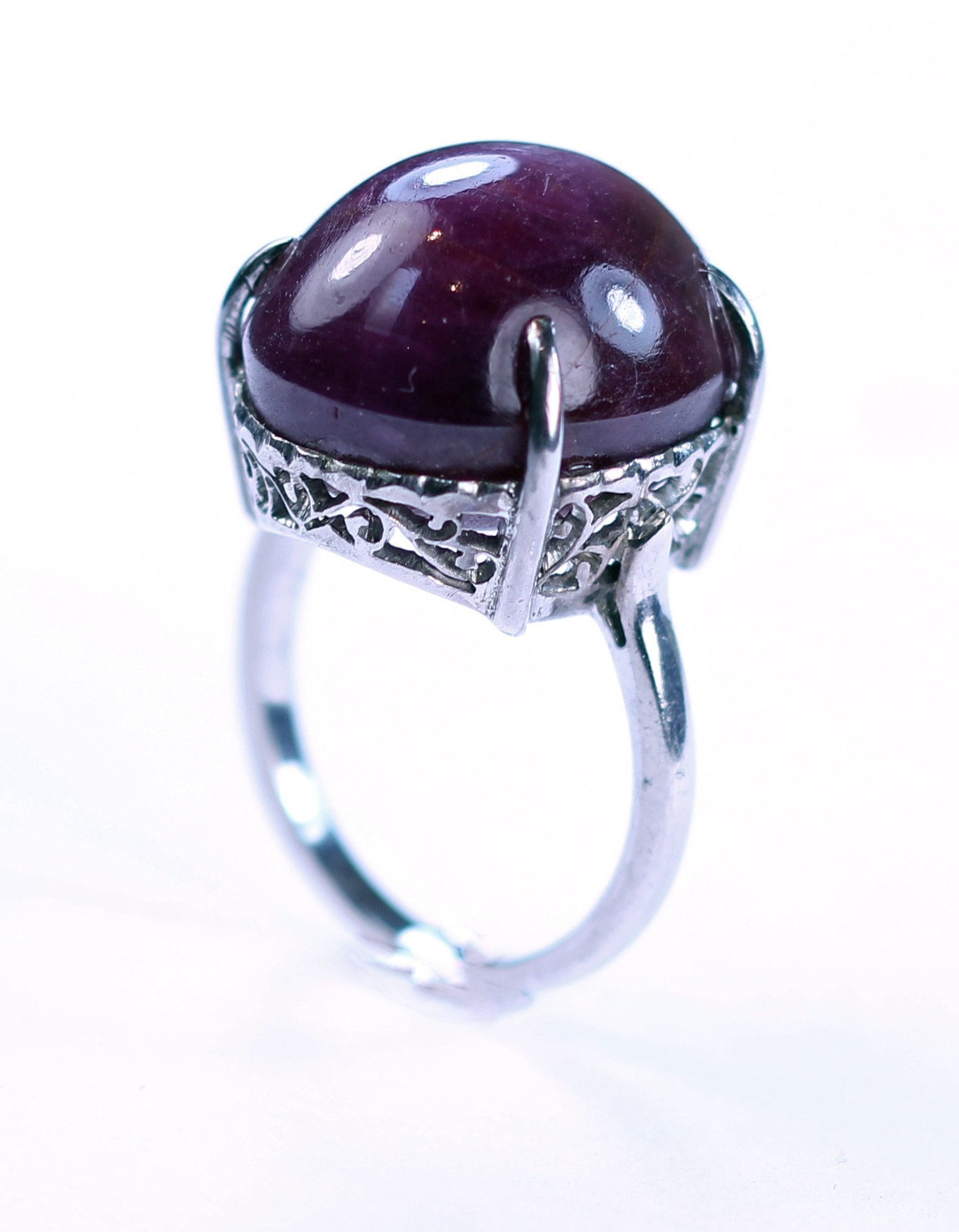 Vintage Star Ruby Ring, SOLD
