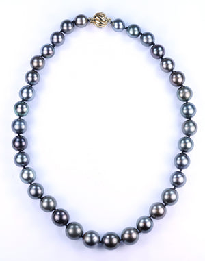 Vintage Tahitian Pearl Necklace, SOLD