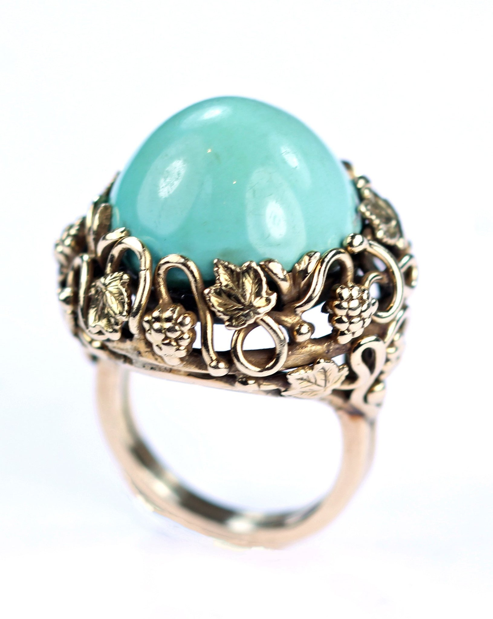 Vintage Turquoise Ring, SOLD