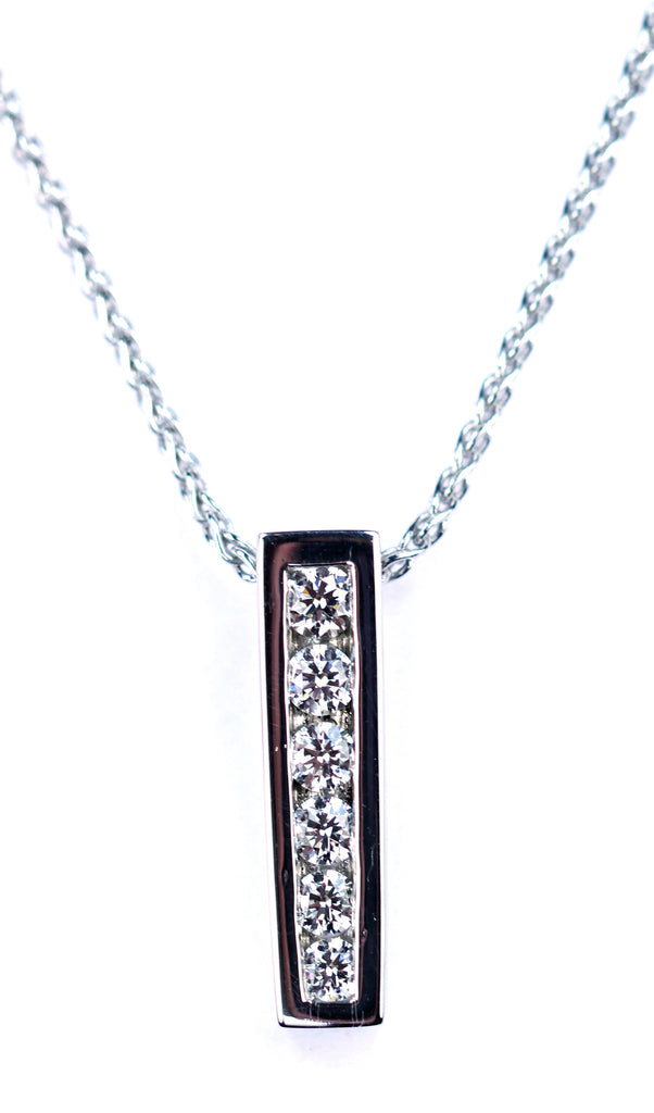 Deleuse Diamond Pendant, SOLD