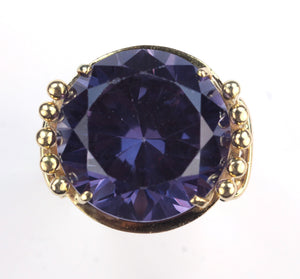 Vintage Synthetic Alexandrite Ring, SOLD