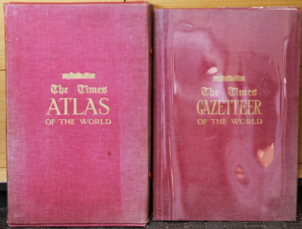 Vintage Times Atlas Book