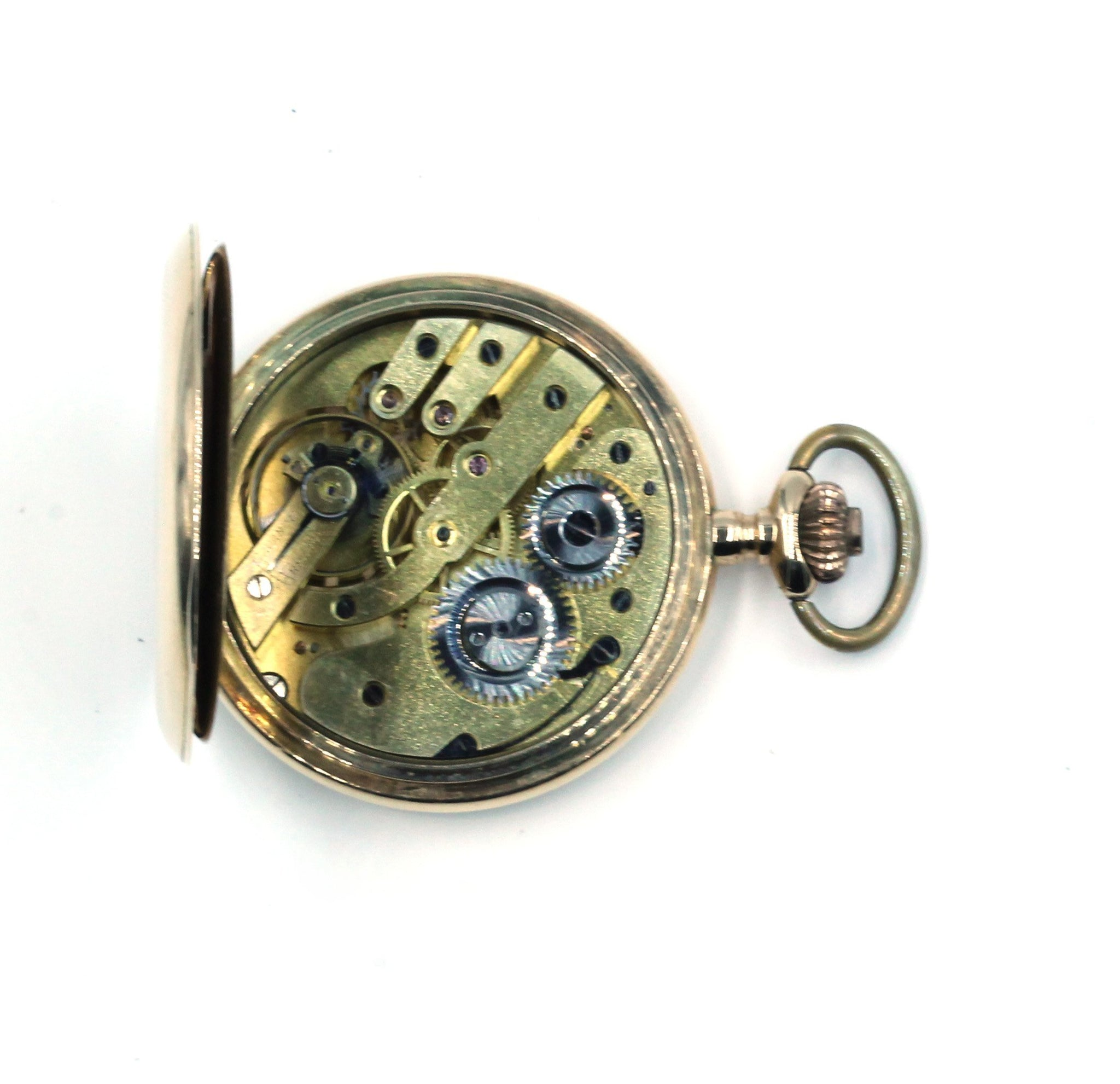 Vintage 14K Gold Pocket Watch,  SUPER SALE
