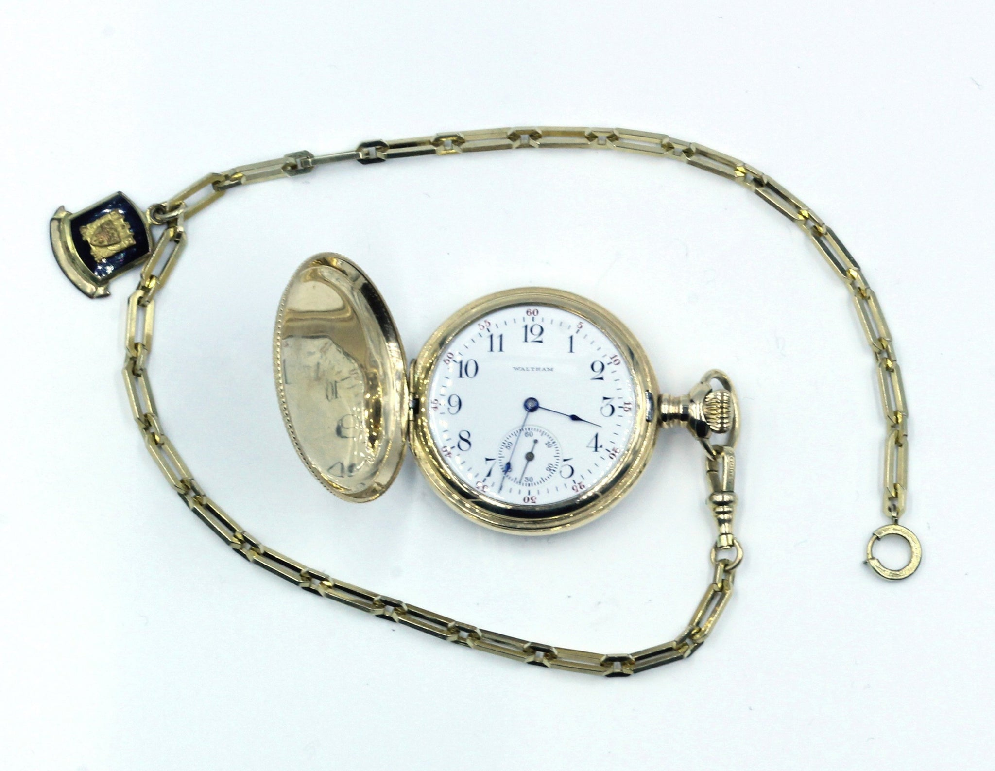 Pocket Watch with Fob,  SUPER SALE