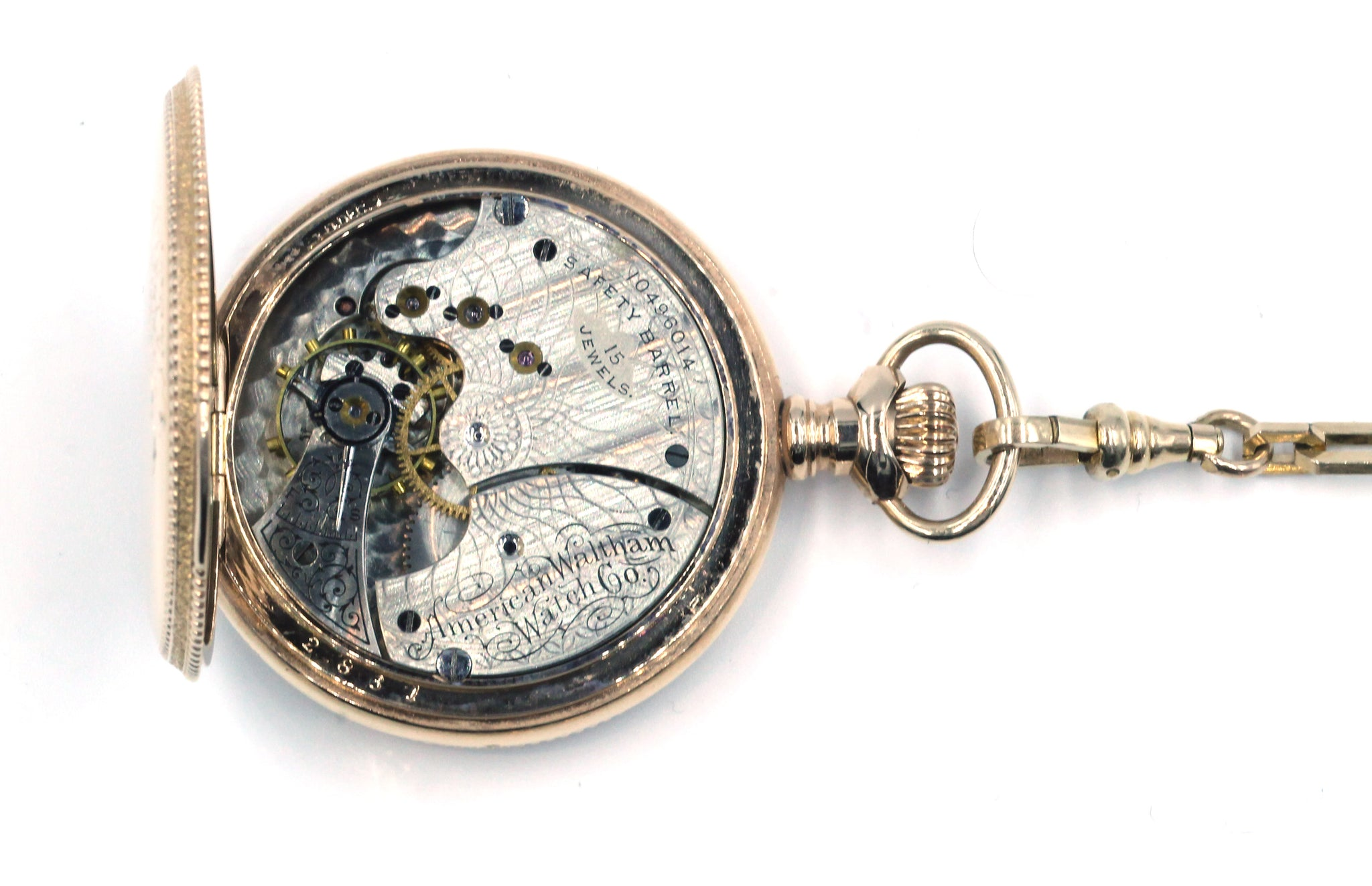 Vintage Pocket Watch with Fob, SALE