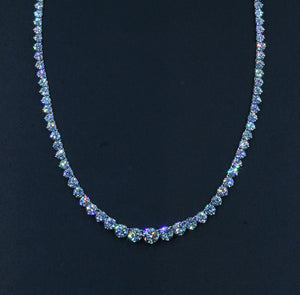 Vintage Lazare Kaplan Diamond Riviera Necklace, SALE