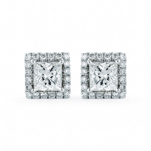 Diamond Hoop Earrings, 4.39 cts. Total Weight, SALE