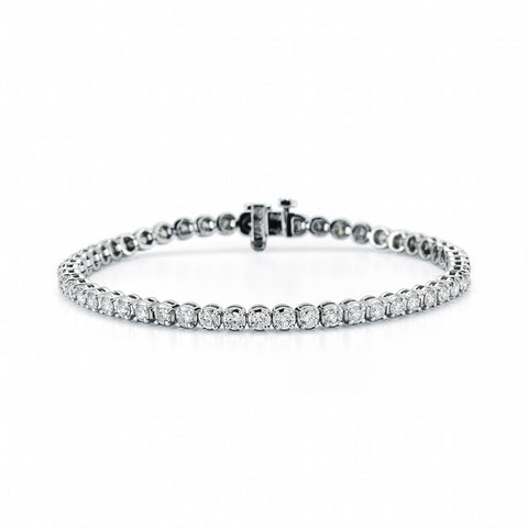 Men's Platinum Link Bracelet, SALE