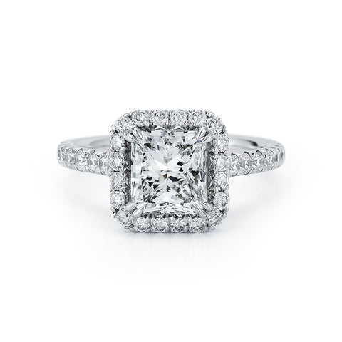 1.51 ct. Center Diamond Halo Ring