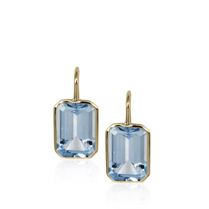Goshwara Blue Topaz Earrings
