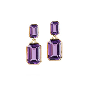 Goshwara Amethyst Earrings