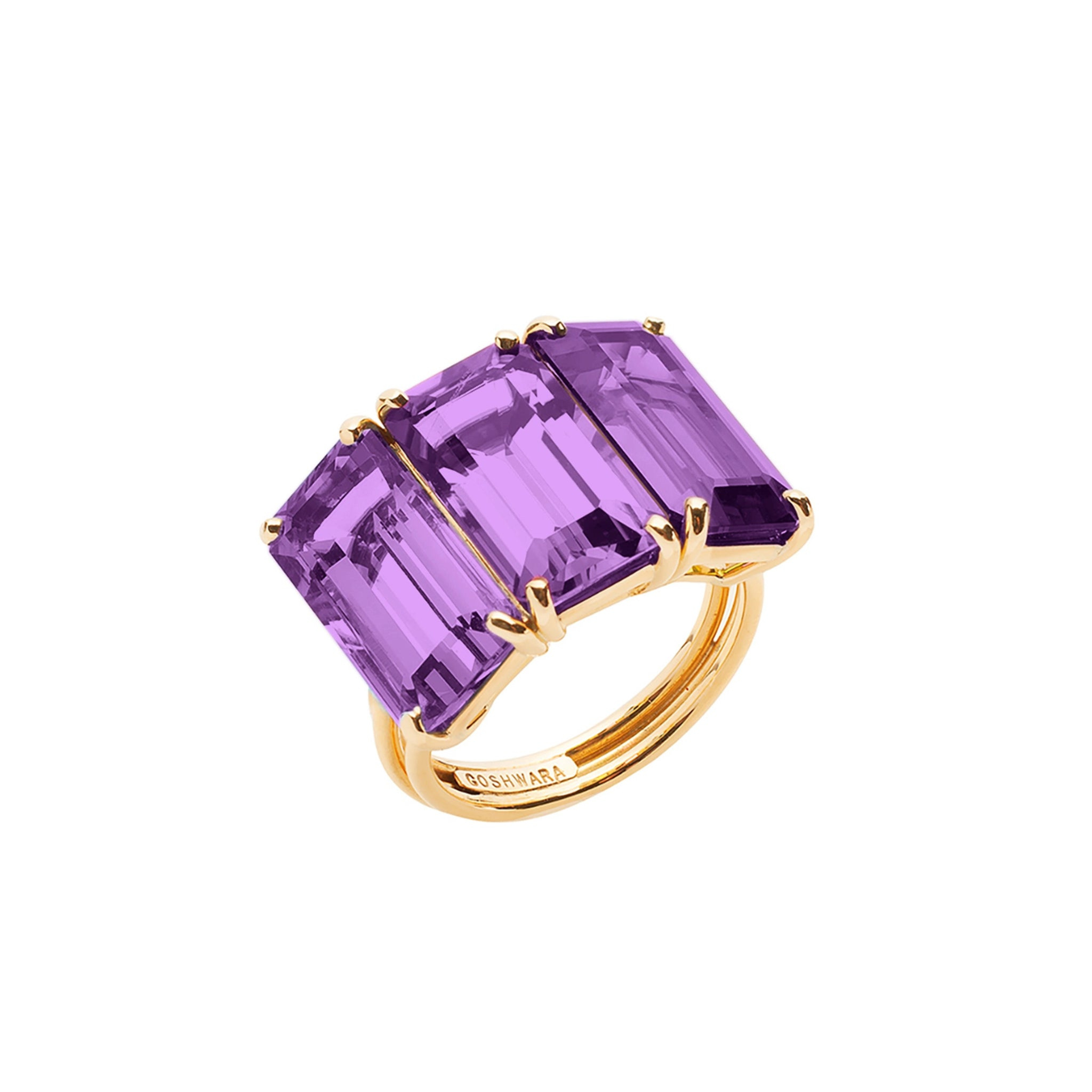 Goshwara Amethyst Ring, SOLD