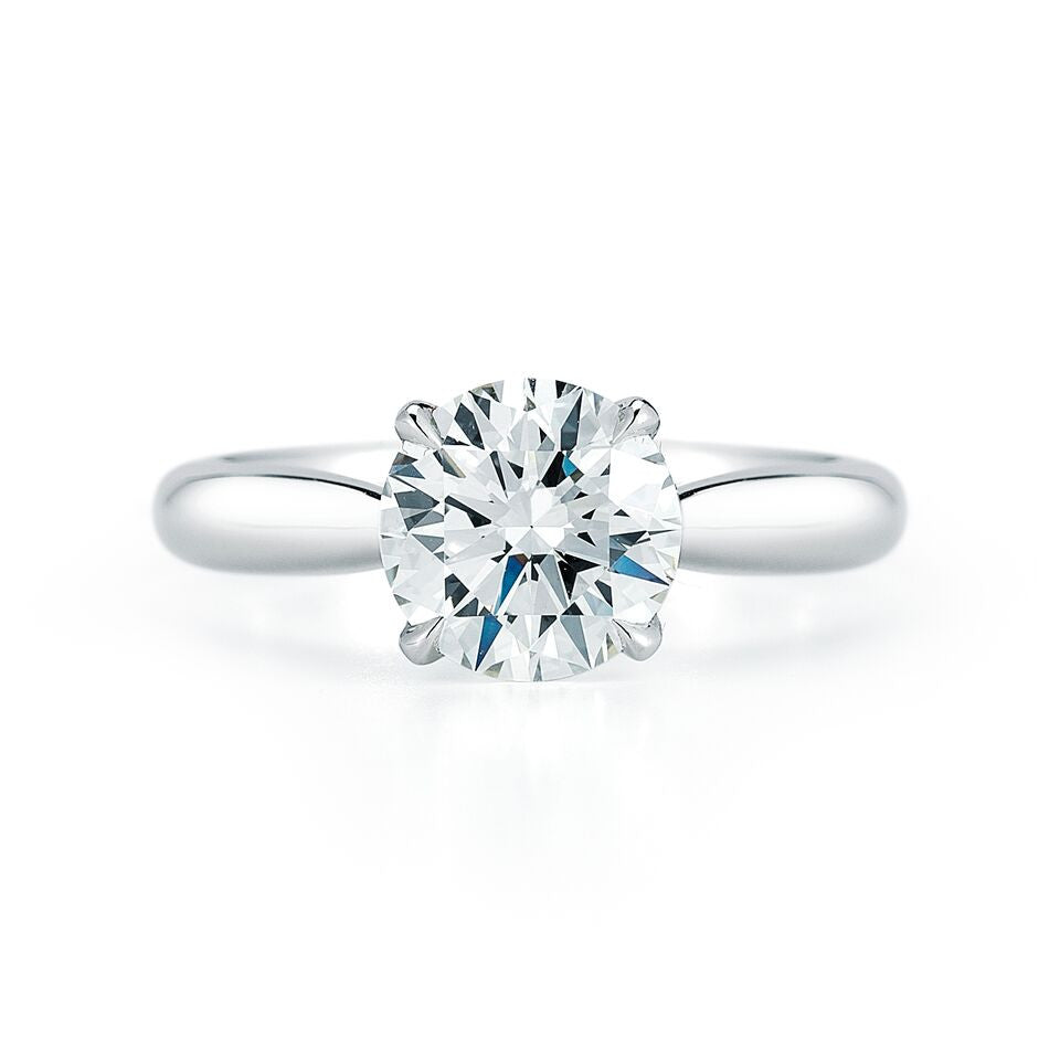 1.62 ct. Solitaire Diamond Ring