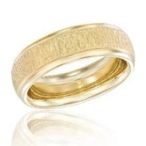 18k Yellow Gold Wedding Band, SOLD