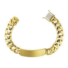Solid 14K Gold ID Bracelet, SOLD