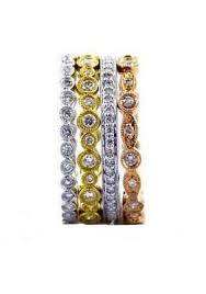 Stackable Diamond Bands, SOLD
