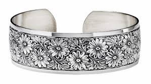 Sterling Silver Daisy Flower Bracelet, SOLD