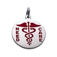Sterling Silver Medic Alert Tag, SOLD OUT