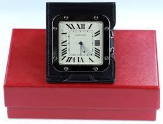 Vintage Cartier Santos Clock, SALE, SOLD