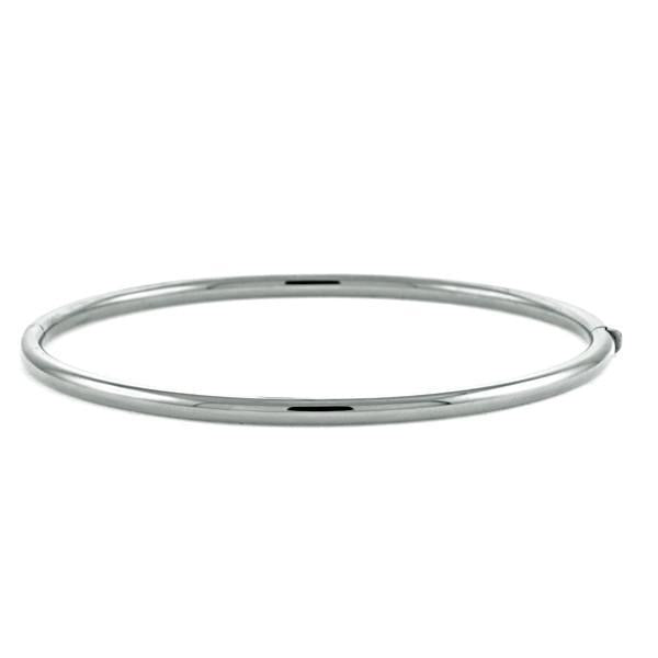 White Gold Bangle Bracelet, SALE