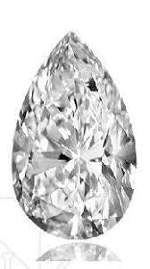 .49 cts. Pear Shape Loose Diamond