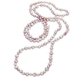 Cultured Freshwater Pink Pearl Necklace, SOLD