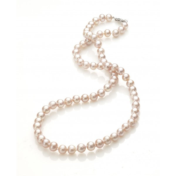 Cultured Freshwater Pink Pearl Necklace