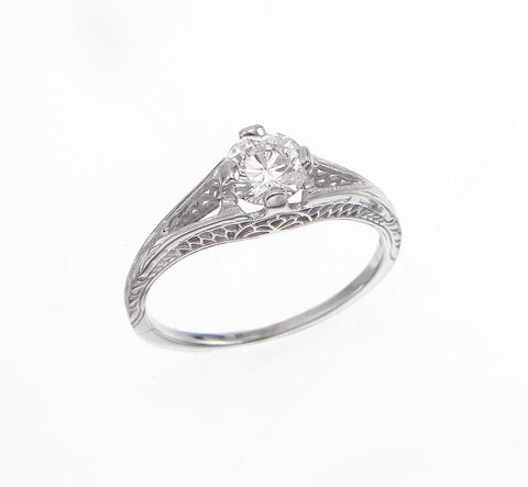 Vintage Engagement Diamond Ring, SOLD