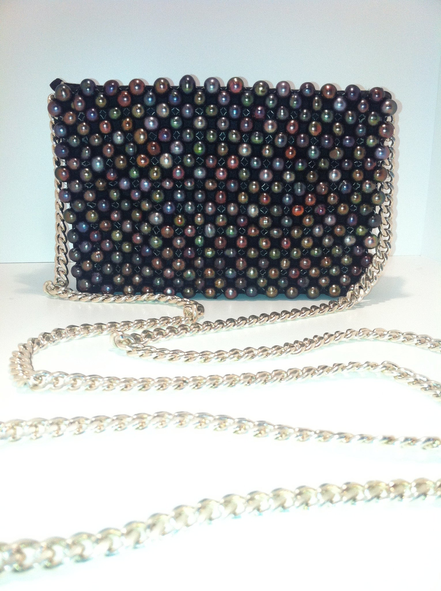 Janet Deleuse Label Cultured Pearl Bag a5be1151030dd