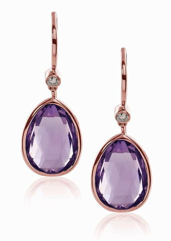 Goshwara Designer Amethyst Earrings, SOLD OUT