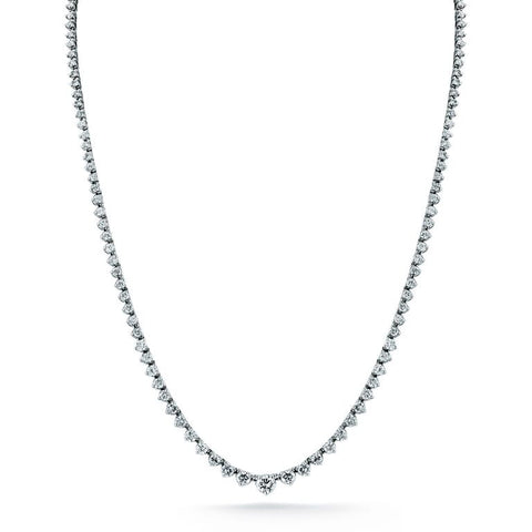 Diamond Necklace   1.13cts. total weight