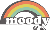 Moody and Co. beaded jewelry logo