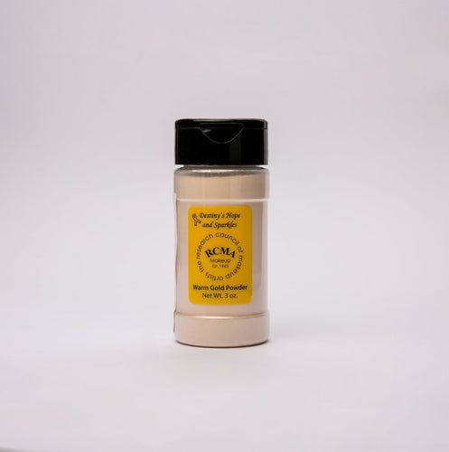 RCMA Warm Gold Powder