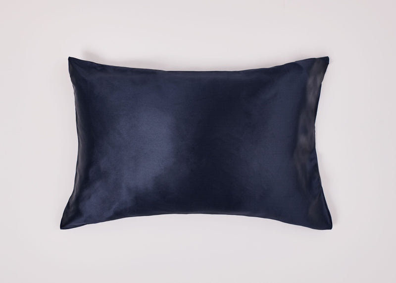 Stellar Silk Pillowcase - Navy