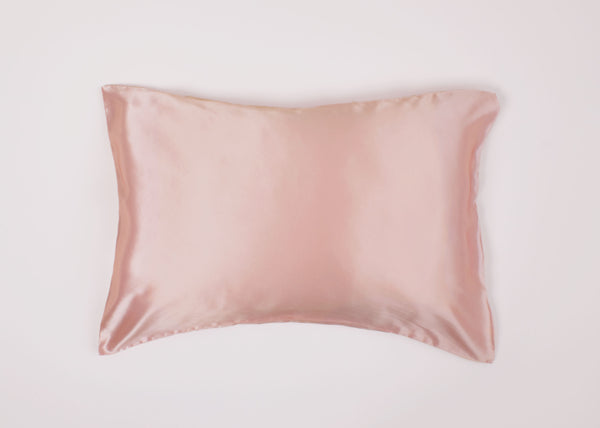 Stellar Silk Pillowcase | Pink