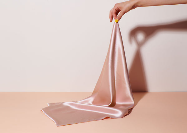 Stellar Silk Pillowcase - Pink