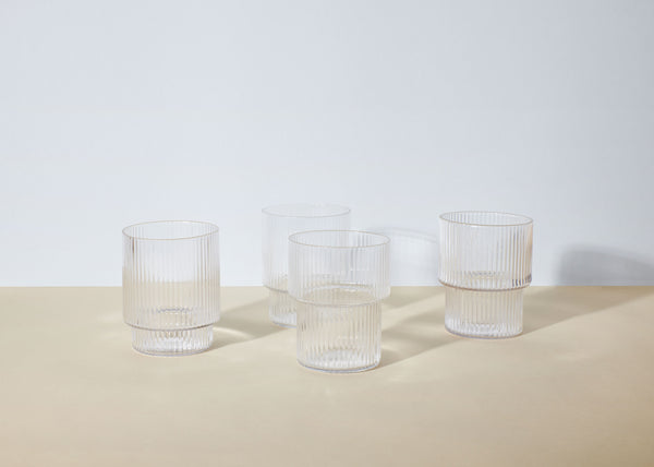 Ripple Glasses | Set Of 4