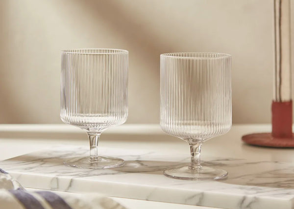 Ripple Wine Glasses | Set of 2