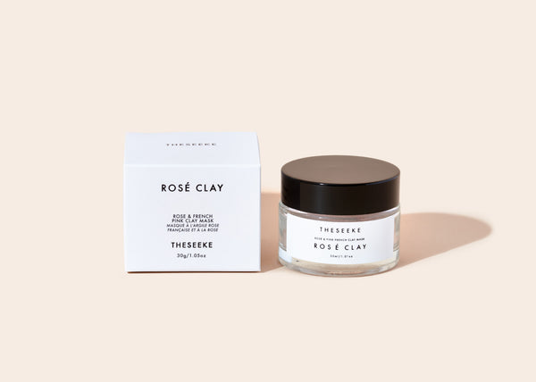 Rose + French Pink Clay Mask