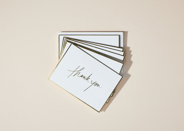 Thank You Script | 10 Card Set |