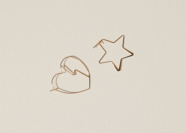 Heartbreak Mismatched Earrings