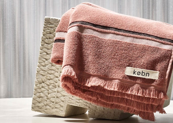 KOBN Hand Towel | Clay