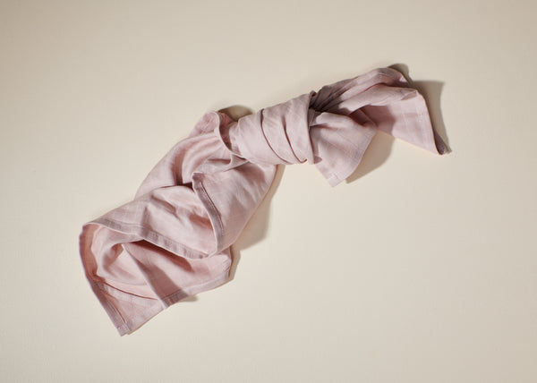 Organic Muslin Swaddle | Blossom Pink