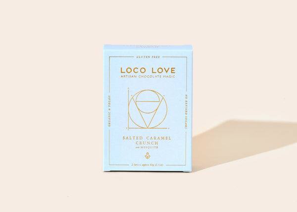 Loco Love Chocolate Twin Pack - Salted Caramel Crunch