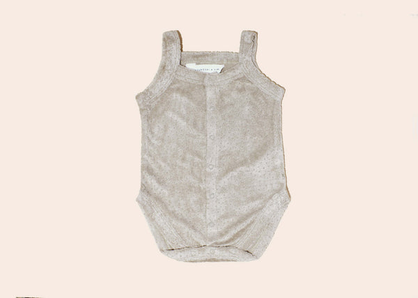 Teddy Tank Suit • Elm