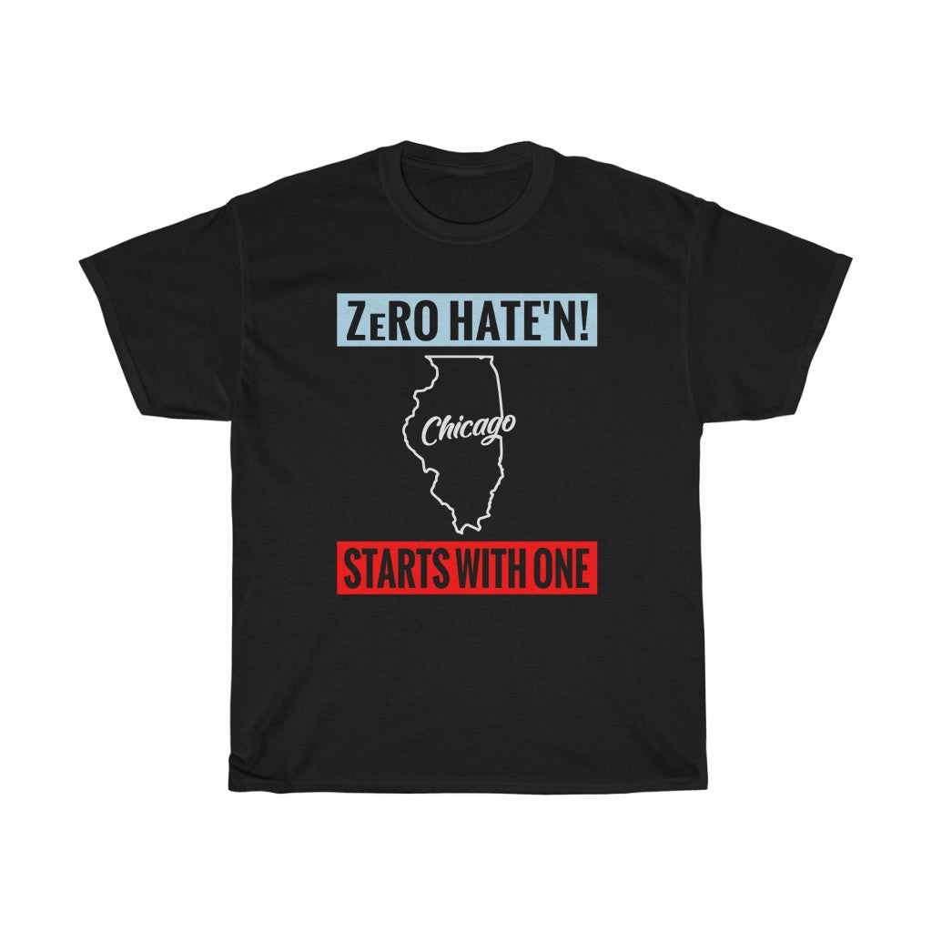 Copy of ZeRO Hate'n - Chicago (BLK)