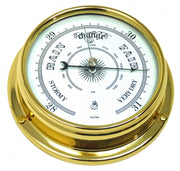 Handmade Solid Brass Traditional Barometer