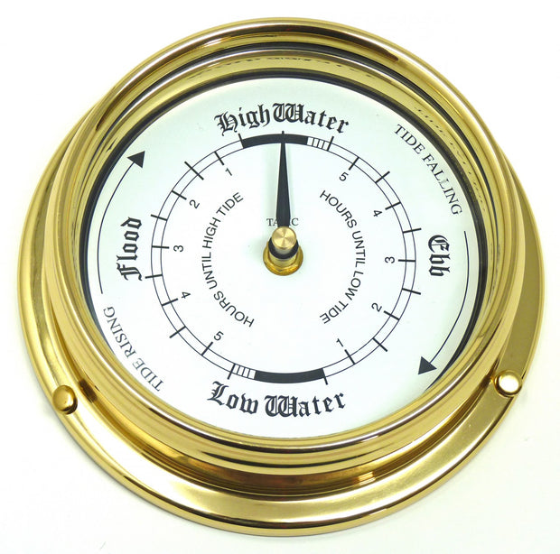 Handmade Solid Brass Tide Clock